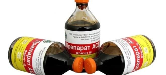 Лечение кисты яичника препаратом АСД 2
