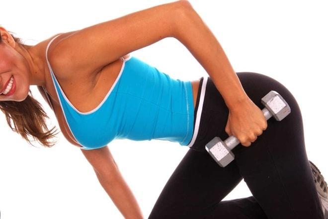 упражнения с гантелями при кистозных образованиях на яичнике