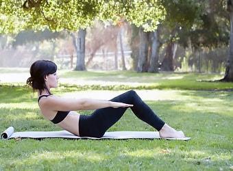 Рекомендованные лечащим врачом упражнения на природе