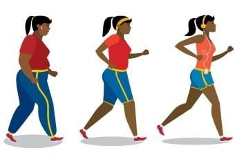 Снижение веса тренировками
