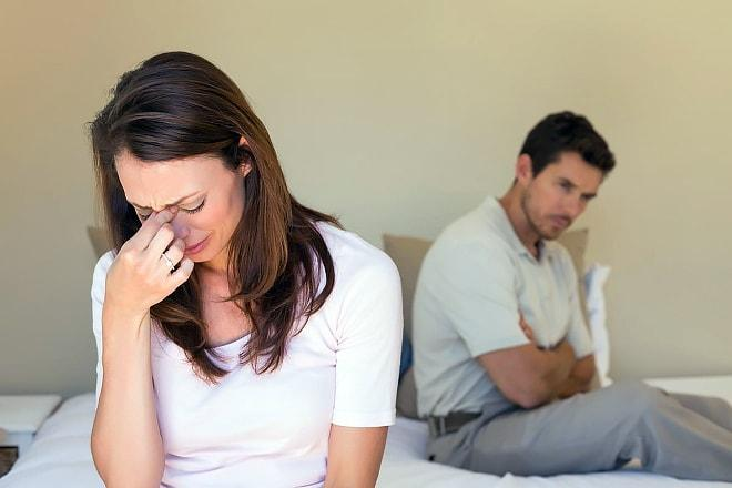 Отказ от секса из-за болевых ощущений