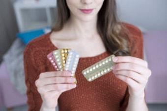 Гормональные контрацептивы при кисте яичника