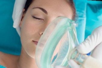 Применение анестезии при пункции яичников