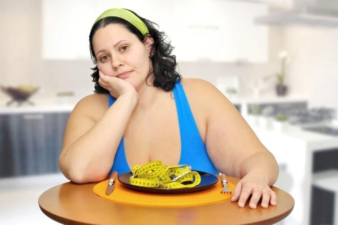 Склонность к набору веса при склерокистозе