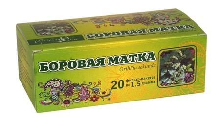 Чай в фильтр-пакетиках из боровой матки