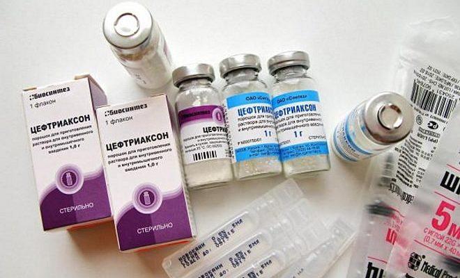 Уколы Цефтриаксона от аднексита и оофорита