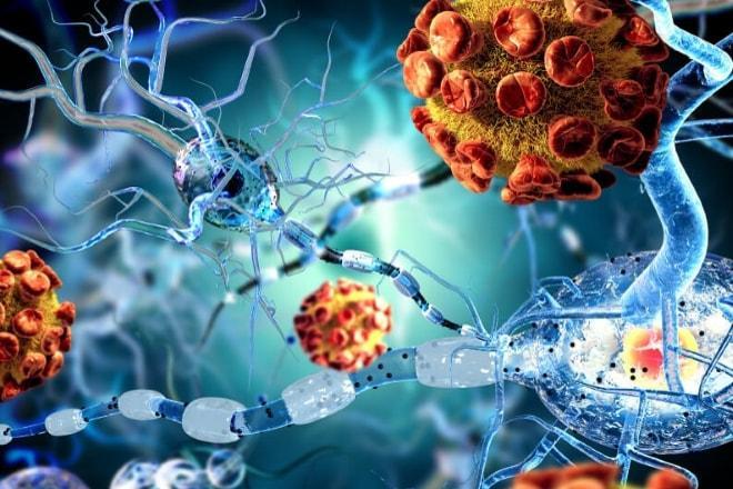 Проникновение инфекции в яичники