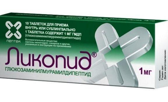 Таблетки Ликопида