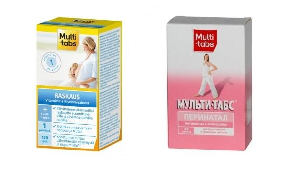 Витамины Мульти-табс