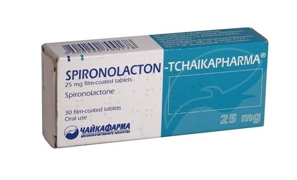 Таблетки Спиронолактона