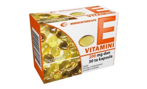Лечение витамином Е