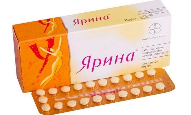 Применение таблеток Ярина при поликистозе яичников