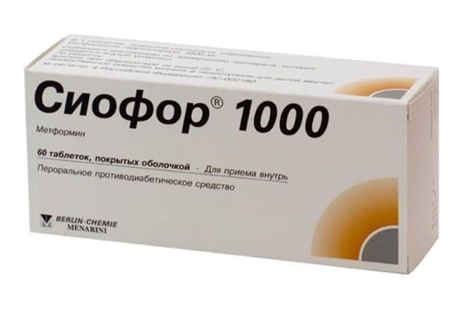 Сиофор при поликистозе яичников