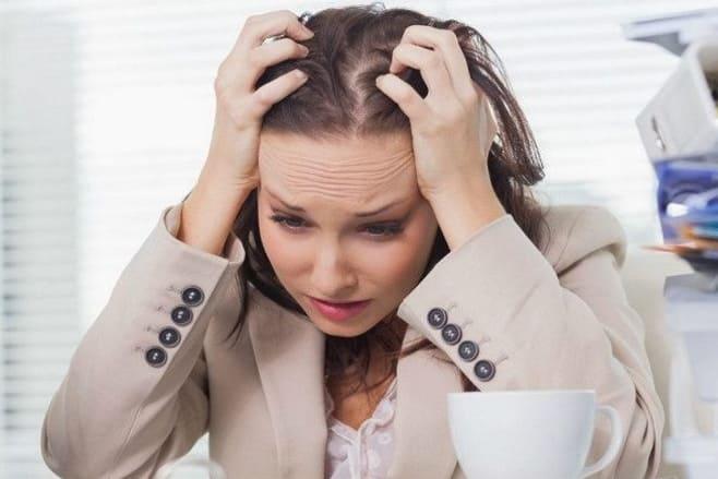 Депрессивные состояния в связи с удалённой маткой