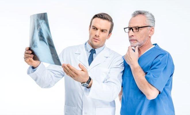 Рентгеновские исследования брюшной полости при атрофии яичников