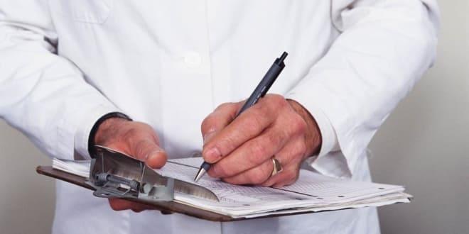 Наблюдение за состоянием больной с аденомой яичника