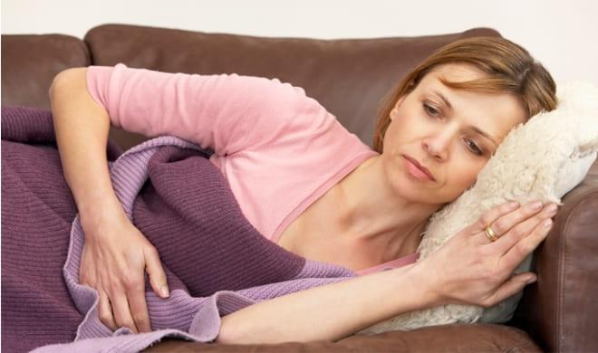 Осложнения при инволютивных изменениях яичников у женщины