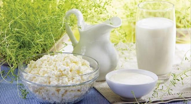 Питание после удаления яичников творогом и кефиром