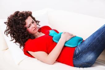 Наступление менструации и жжение в яичниках