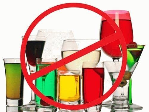 Алкоголь и соки после удаления яичников пить нельзя