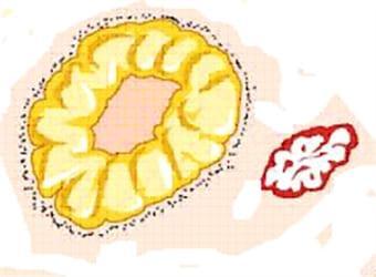 Жёлтое тело яичника при беременности на фото