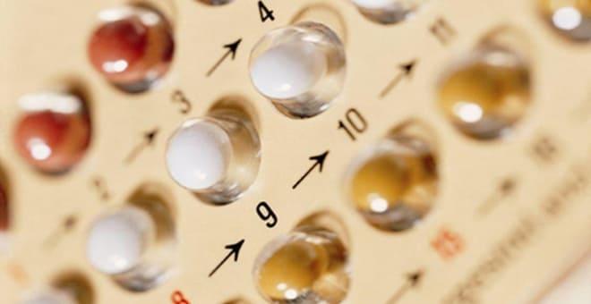 Оральные контрацептивы при лечении жёлтого тела во время месячных