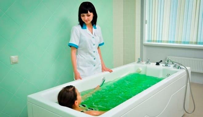 Соляные ванны при воспалении левого яичника